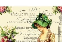 vintage lady's / by Rozemarijn Bloem En Kado Voorst