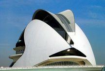 Santiago Calatrava Arc / by Henkve Ve