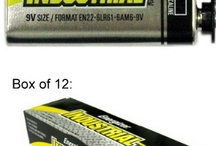 Other Batteries / by Batteries and Butter