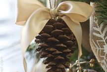 Christmas Is Naturally Wonderful #Christmas / Christmas decorating and celebration inspirations, with nature and garden themes / by Ilona's Garden