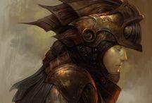 Fantasy concept art / #Fantasy #Art  / by Igor Bogdanovski