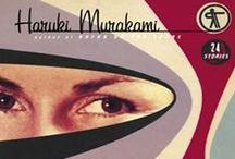 MURAKAMI DESIGN / Haruki Murakami Book Design / by Jason Whiton