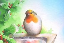 Robin Red Breast illustrations  / by Sharon Rotherforth