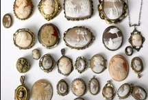 My Petite Museum / Antique and vintage thimbles, salt and pepper shakers, cameos, victorian mourning pieces, etc.  / by robin sokel