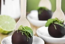 Cake balls & Truffles / Any kind of cake,cookie, candy sweet creation that can be made in a shape of a ball or put on a stick.  / by ERROL J *