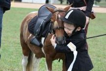 Children and horses / by Emily Poney