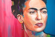 Frida Kahlo y Diego Rivera / by Nella Capitaine Drouaillet