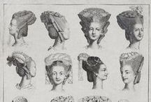"Fanciful Hair / Inspiration for our upcoming ""Hair Ball"" / by Gadsby's Tavern Museum"