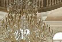 Lighting..mirror design best of both / Designer lighting / by Annette Salerno