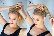 Hairstyle How-To / Share the fashion hairstyle How-to Steps. Each girl need this! / by IZIWIG