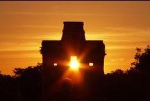 Mayan Ruins in the Yucatan Península / Zonas Arqueológicas en la Península de Yucatán / Mayan Ruins that you can visit in the Yucatan Península / Zonas arqueológicas que puedes visitar en la península de Yucatán. / by Playa Palms