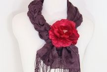 """Scarves, Tying, & Scarf """"Hangers"""" / by Lucie King"""