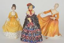 Porcelain Figurines / Collectable Figurines / by Moira Jones