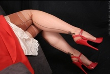 Seamed Stockings / by Highheels, Stockings & more