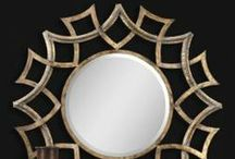 unique, decorative, wall mirrors / Decorate any room with these unique decorative large or small wall mirrors / by the essentials inside