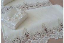 toalhas;banho ;mesa etc... / by Maria Lucilia Sousa