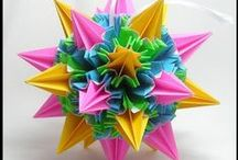 "Paper treashures - origami, kusudamas, boxes, flowers / The amazing art of transformation of a simple sheet of paper into the real treashure... If you like what you see here, then repin and follow me by clicking ""follow board""! / by Elena Sheveleva"
