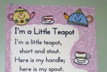 I'm A Little Teapot / by Sylvia
