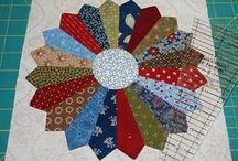 Quilt Design: Plates and Fans / by Carmen Martinez