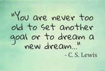 Quotes:motivational&inspirational / by Theresa Solis-Camero