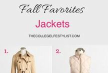 Jacket Time / This board is all about that one accessory every girl needs for those chilly seasons: Jackets.  / by The Smart Girls Group