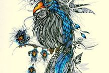 Fine art and Illustration / by Carolyn Williams