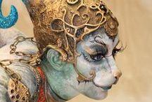 fx / fantasy make up / by jessica vermaak