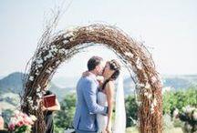 Clara and Cedric 20.06.13 Villa di Ulignano Planning: Sposiamovi Flower Decor: La Rosa Canina / Wedding in Tuscany / by La Rosa Canina FIRENZE