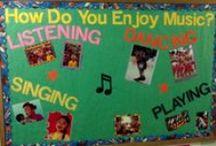Music classroom resources / by Ingrid Verschelling