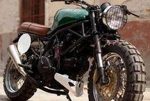 Cafe Racers and Motorcycles / by Russell Drake