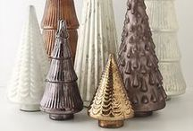 Christmas trees / All shapes, sizes, colors, & types of Christmas trees.  Tree crafts, tree shaped edibles & inspiration pics too. / by Diane V.