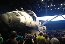 Out of this World Adventure / Visit Cocoa Beach and spend an action pack day or 2 at Kennedy Space Center Visitor Complex; home of Space Shuttle Atlantis  / by Stay Cocoa Beach (Cocoa Beach Hotel Group)