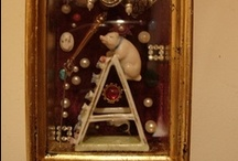 Assemblage Art  / A place where I can save all my favourite assemblages that I come across .