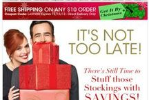 Avon Stocking Stuffers / Avon has lots of great stocking stuffers for Christmas 2013! Buy Avon Stocking Stuffers online by clicking on any of the pins below of going to www.youravon.com/eseagren / by Avon Representative, Emily Seagren
