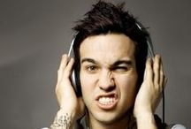Pete Wentz / Fall out boys bassist. My favorite out of the whole band. He is just so freaking adorable!!! / by ᎷᎪᎠᎠᏆᎬ ᎾᏚᏴᎾᎡN