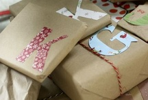 Wrapped Up Tight / Gift wrapping for Christmas and beyond / by Completely Christmas!
