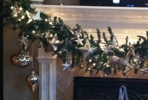 Magical Mantles / Mantle ideas for Christmas  / by Completely Christmas!
