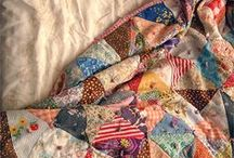 Quilts / by Clotheslines and Lace
