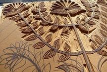 Stamps and Woodcuts / by Clotheslines and Lace