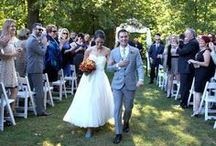 Outdoor Weddings / Celebrate your love in our gorgeous gardens along the Lackawaxen River. / by The Settlers Inn