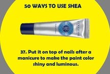 50 Ways to Use Shea! / Shea butter is a natural beauty balm.  L'OCCITANE uses it in over 50 products to moisturize, protect, nourish - and more!  Stay tuned to discover all the ways that you can use shea. / by L'OCCITANE
