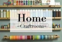 //Home// Craftroom / by Esther
