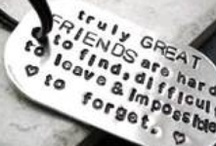 Friendships are priceless / To the Ancients, Friendship seemed the happiest and most fully human of all loves; the crown of life and the school of virtue. / by jessica brevier