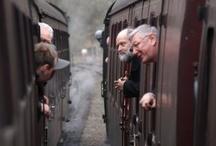trains / by Caroline Jensen