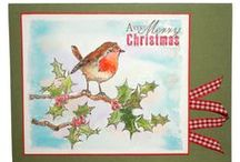 Berries & Birds / This is the new set Berries & Birds designed by the very talented Sharon Bennett for Hobby Art Stamps. / by Hobby Art