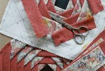 Paper Piecing quilt blocks / by Gloria Bunn