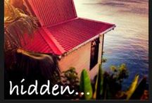 Kai Koko Spa / Built at the cliff's edge with dramatic views of the silver sands of Anse Cochon and the azure Caribbean sea below.This intimate resort Spa has 3 treatment rooms, crafted, as its Creole name suggests, from richly grained Coconut Wood.  With a private Jacuzzi perfectly positioned to take in the stunning Caribbean views you can open one's self to the mystical magic of Ti Kaye. / by Ti Kaye Resort & Spa