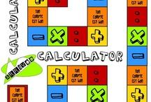 A l'école - Compter, calculer, mesurer / by Clapette