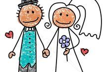 Thema:trouwen / by Juf Ria