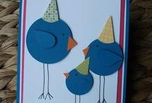 Cards: Birthdays / by Carol Feige